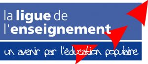 Logo Ligue de L'Enseignement, partenaire d'Imaginaire Compagnie pour le théâtre à Lille