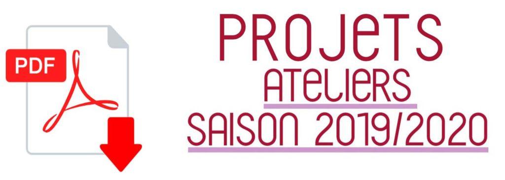 Télécharger les projets des ateliers 2019/2020
